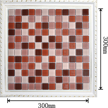 Mosaic tile dimensions tile design ideas for Dimensional tile backsplash