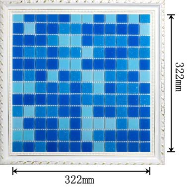 dimensions of the glass mosaic tile backsplash wall sticers HC-468