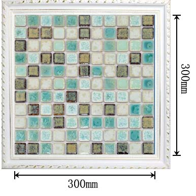 dimensions of porcelain mosaic tile - TC-2508TM
