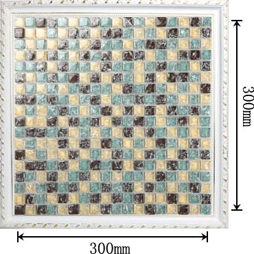dimensions of the glass mosaic tile backsplash wall sticers -l311