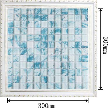 dimensions of the glass mosaic tile hand painted dinner-room backsplash wall sticers yf-bl44