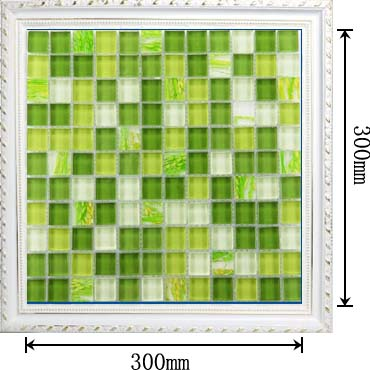 dimensions of the glass mosaic tile painted kitchen backsplash wall stickers yf-mtlp22