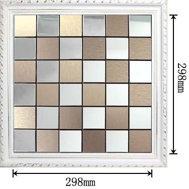Mosaic tile dimensions tile design ideas for Dimensional tile backsplash