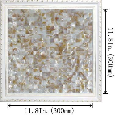 dimensions of the mother of pearl tile - st069