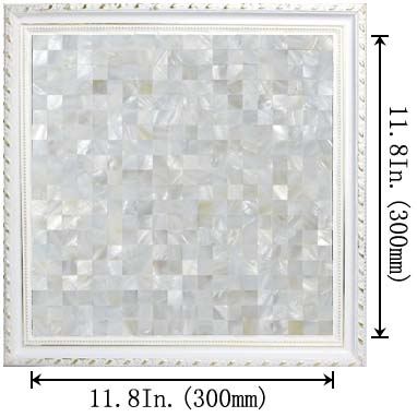 dimensions of the mother of pearl tile - st076