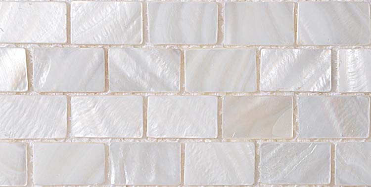 Shell Tile Mosaic Wall Tile Tiling Subway Tile Kitchen