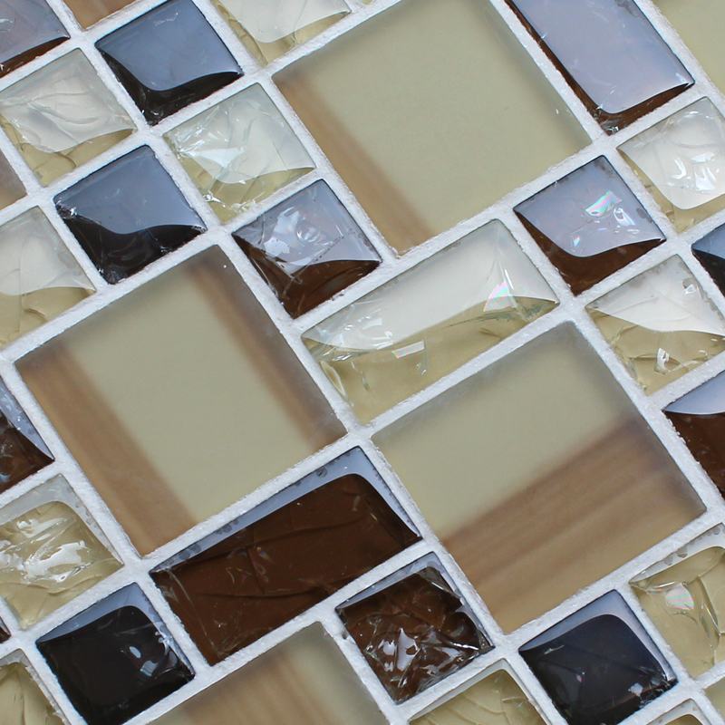 Wholesale Mosaic Tile Crystal Glass Backsplash Kitchen ...