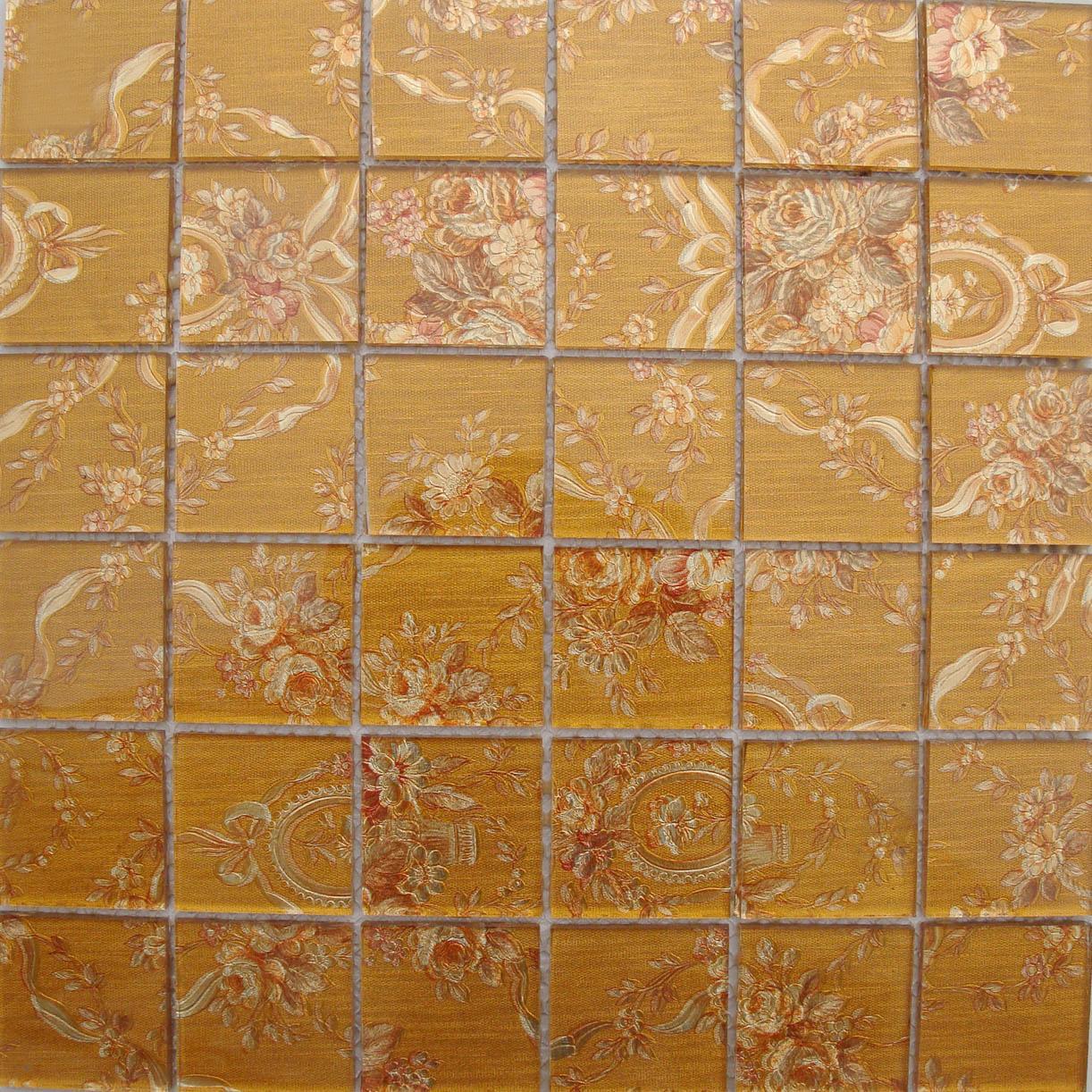 Wholesale Crystal Glass Mosaic Tiles Washroom Backsplash