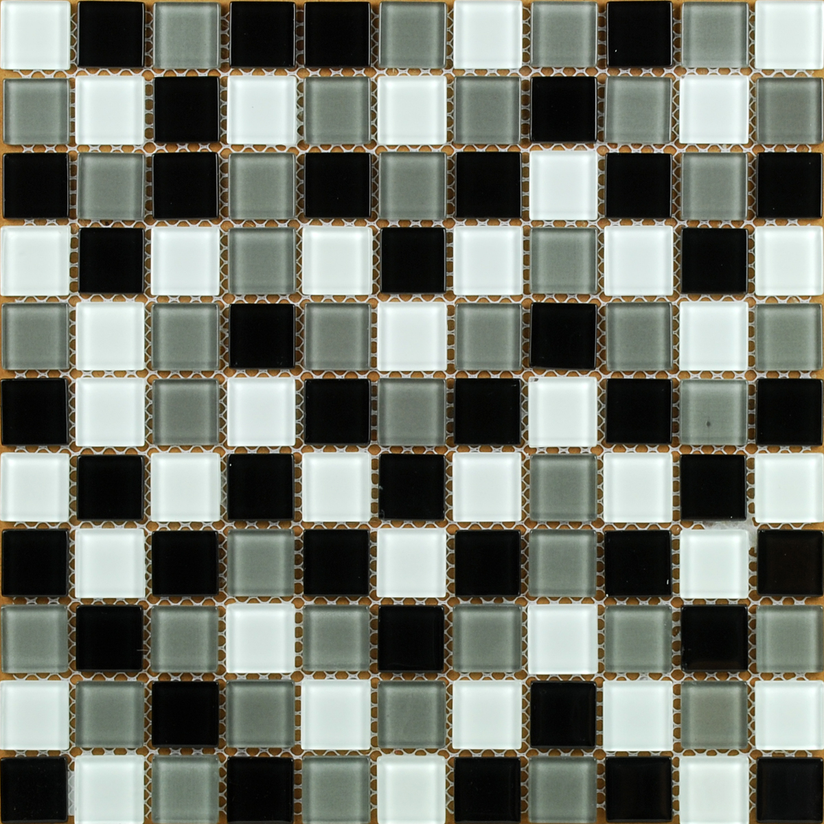 Wholesale vitreous mosaic tile crystal glass backsplash kitchen penny - Front Of Crystal Glass Tile Vitreous Mosaic Wall Tiles Kl026