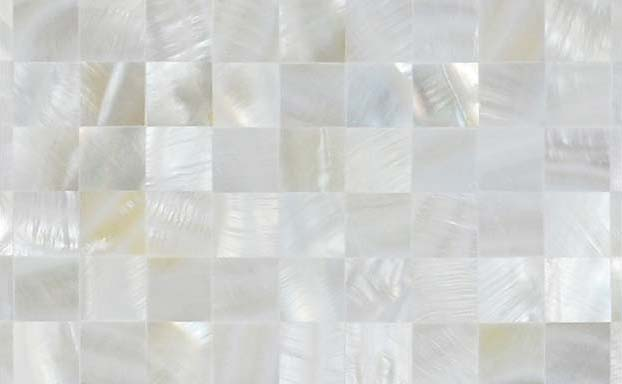 front side of the mother of pearl tile - st076