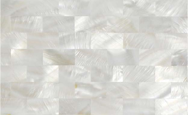 front side of the mother of pearl tile - st077