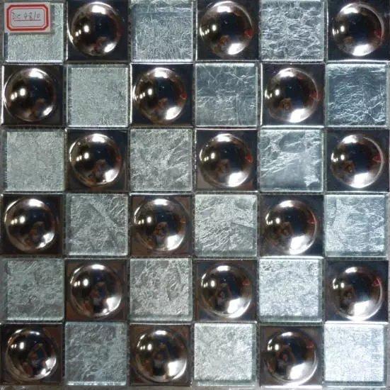 Glass And Metal Tile