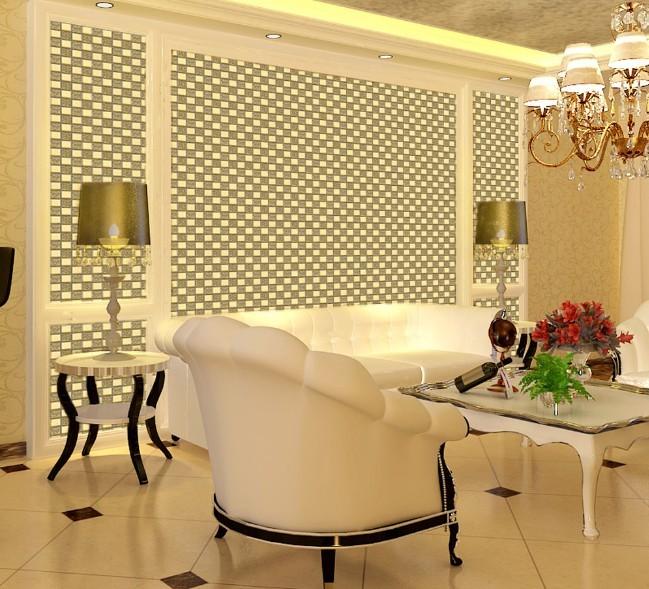 Tile In Dining Room: Wholesale Mosaic Tile Crystal Glass Backsplash Dining Room