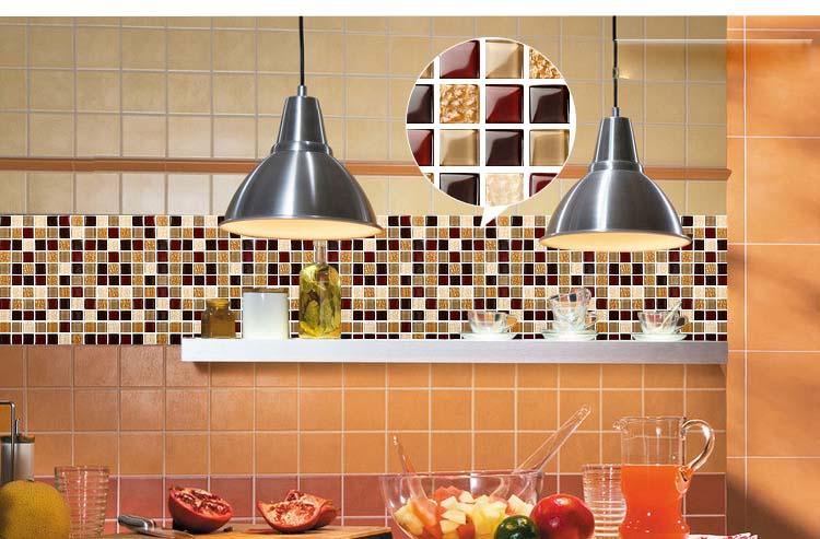 Wholesale Vitreous Mosaic Tile Crystal Glass Kitchen Of Backsplash