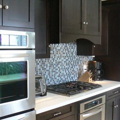wall decals kitchen backsplash : ... mosaic tile crystal backsplash kitchen  wall tiles- - Wall Decals Kitchen Backsplash ~ Color The Walls Of Your House