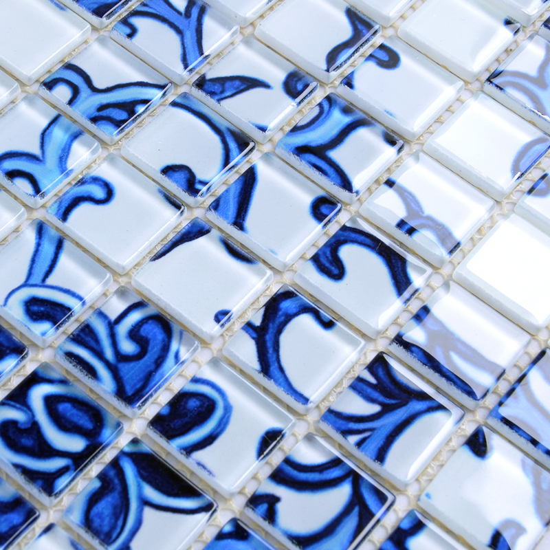 glass mosaic tile pattern - sm111