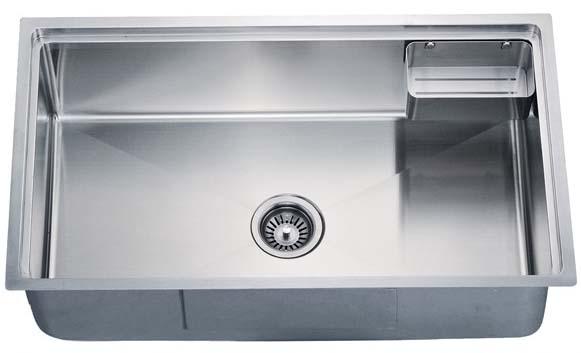 Kitchen Sink 304 Stainless Steel Satin Polished Finish