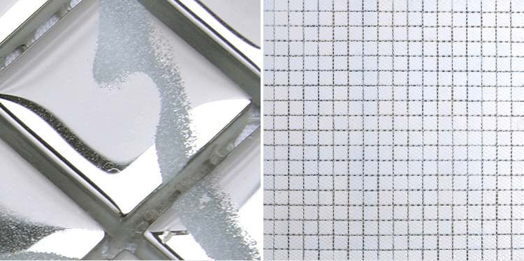 mesh mounted pattern mosaic tile - h058