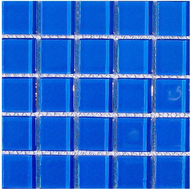 Wholesale Mosaic Tile Crystal Glass Backsplash Washroom Design Bathroom  Wall Floor Swimming Pool Tiles Blue