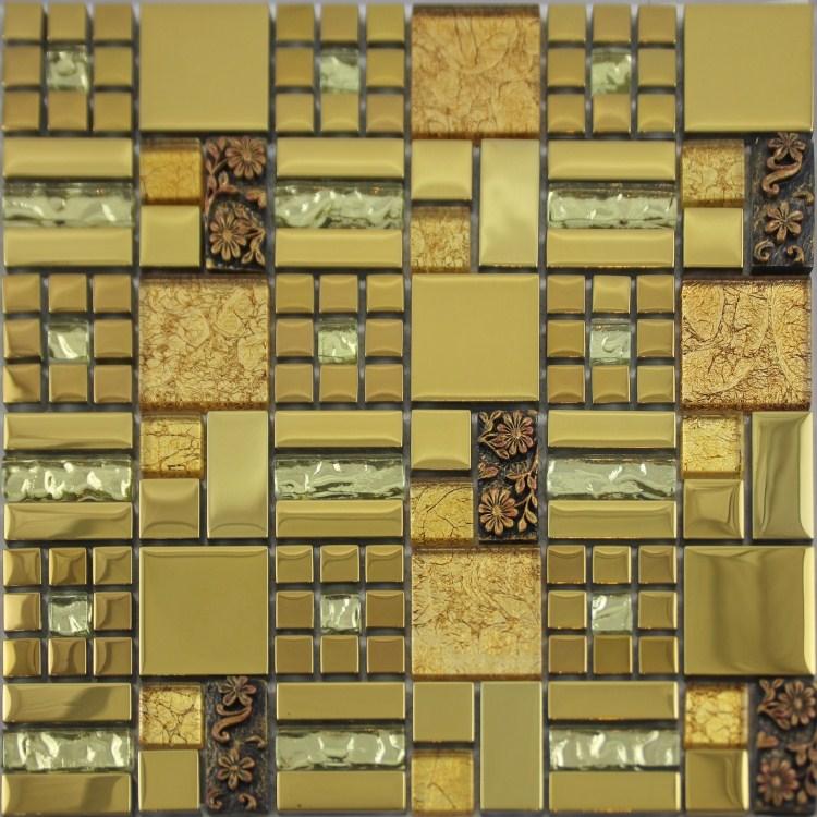 Glass Mosaic Tiles Crystal Diamond Tile Bathroom Wall