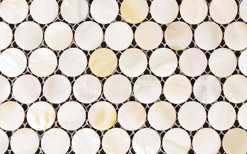 Mother Of Pearl Bathroom Mirror Wall Tile   St009