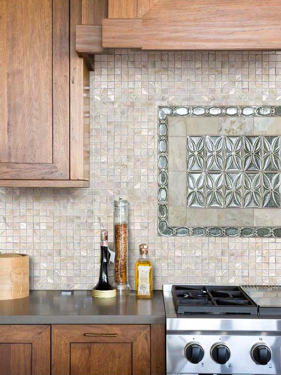mother of pearl mosaic kitchen backsplash tile - st003