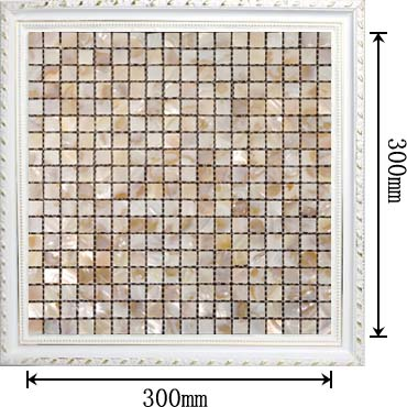 mother of pearl mosaic shower wall and floor tile - st002