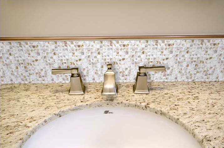 mother of pearl tile bathroom wall backsplash - st046