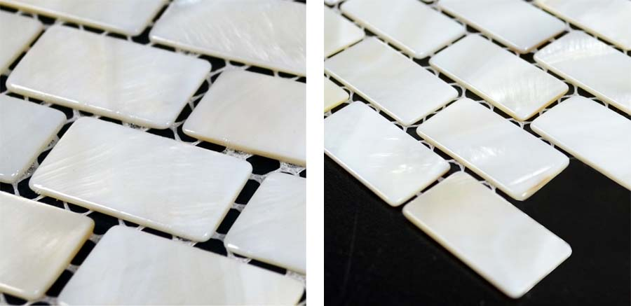 mother of pearl tile details - st053