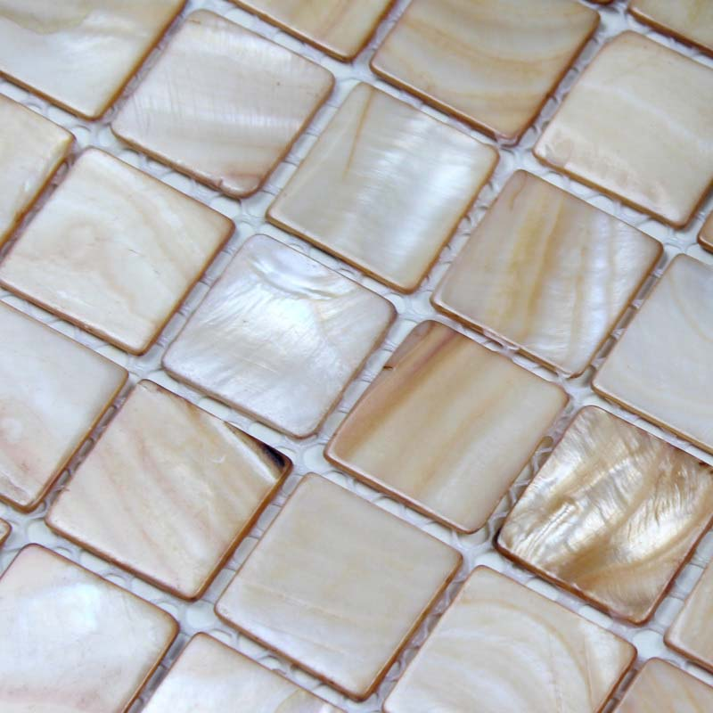 Shell Tiles 100 Natural Seashell Mosaic Mother Of Pearl