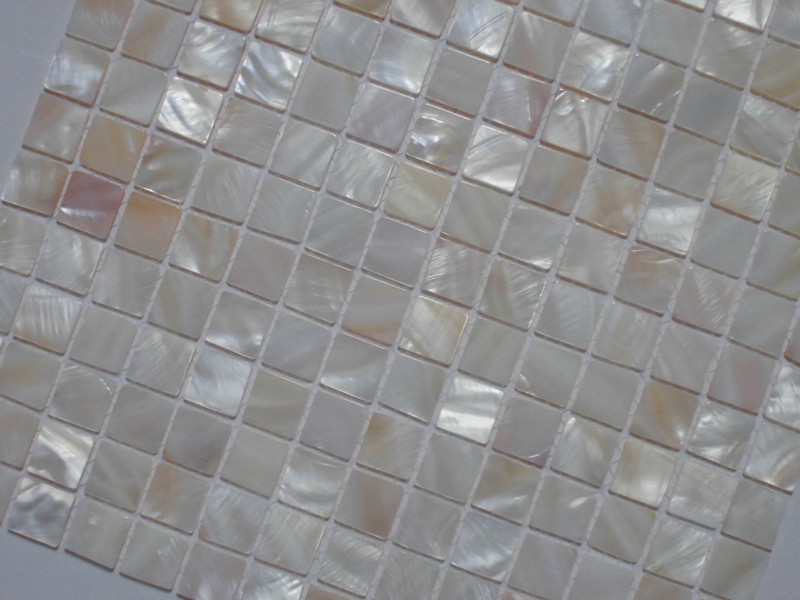 Mother Of Pearl Tile Shower Liner Wall Backsplash Square
