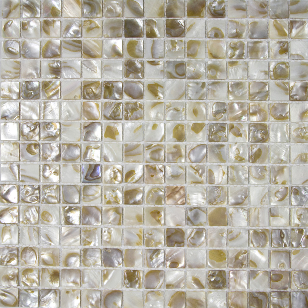 Shell Tiles 100 Natural Seashell Mosaic Mother Of Pearl