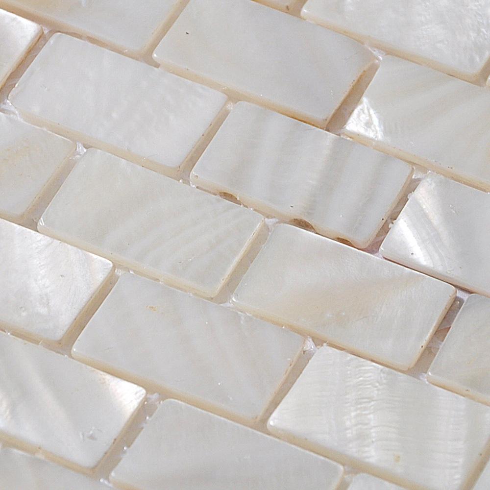 tile tiling subway tile kitchen backsplash border mother of pearl tile