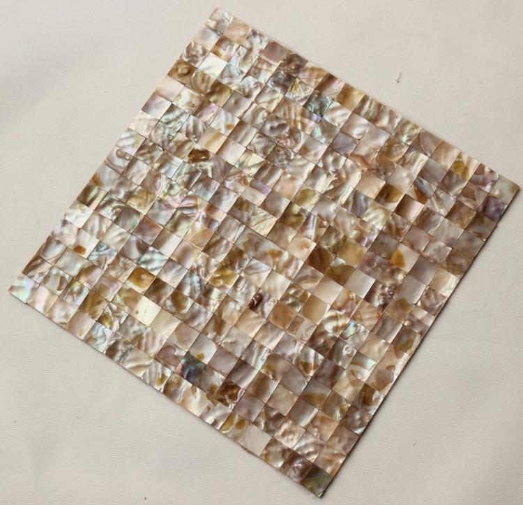 Shell Mosaic Tiles Cheaper Mother Of Pearl Tile Backsplash