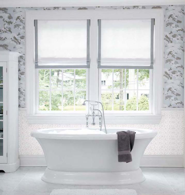 Mother Of Pearl Tile Shower Wall Backsplash   St039