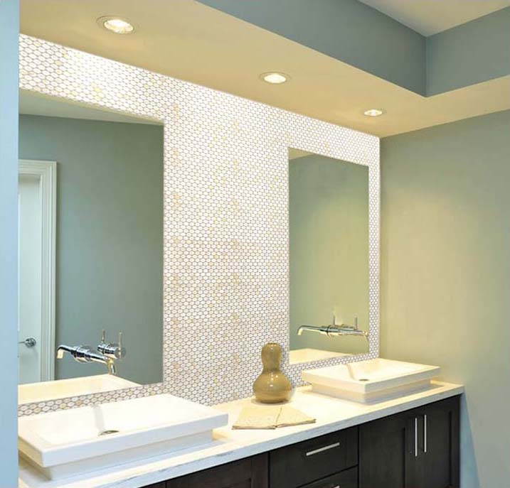 penny round shell mosaic bathroom wall tile   st009. Mother of Pearl Tile Bathroom Mirror Wall Backsplash