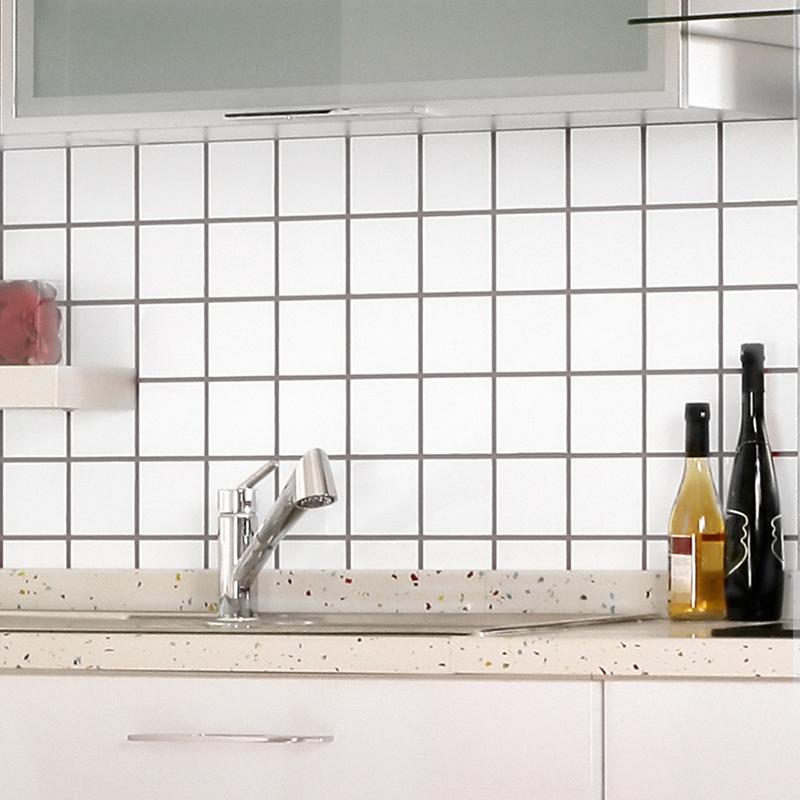 white matte porcelain tile non slip tile washroom wall
