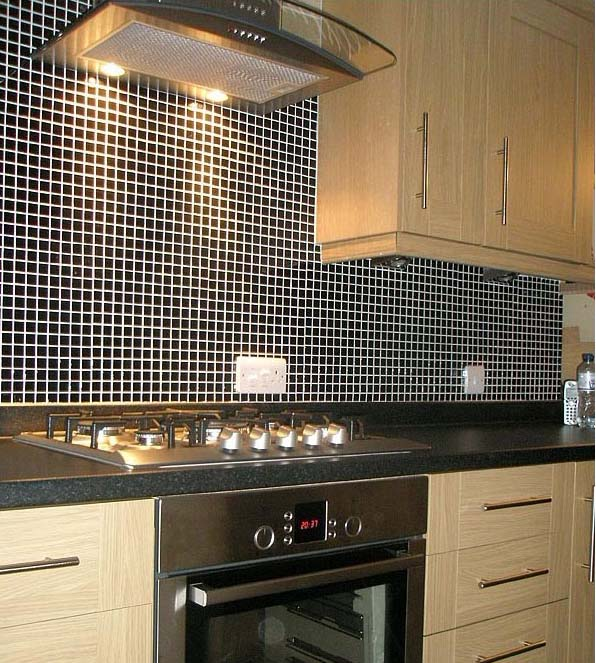 Porcelain Mosaic Kitchen Backsplash Wall Tile Hb 009