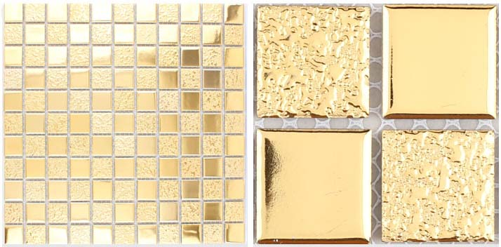 porcelain mosaic metal coating tile - hd-062