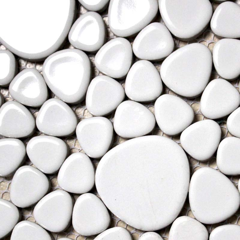 porcelain mosaic pebble bathroom wall stickers - aty1103
