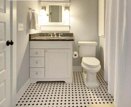 porcelain mosaic tile bathroom floor sticker
