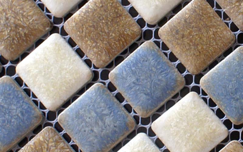 porcelain mosaic tile bathroom wall backsplash - adt34