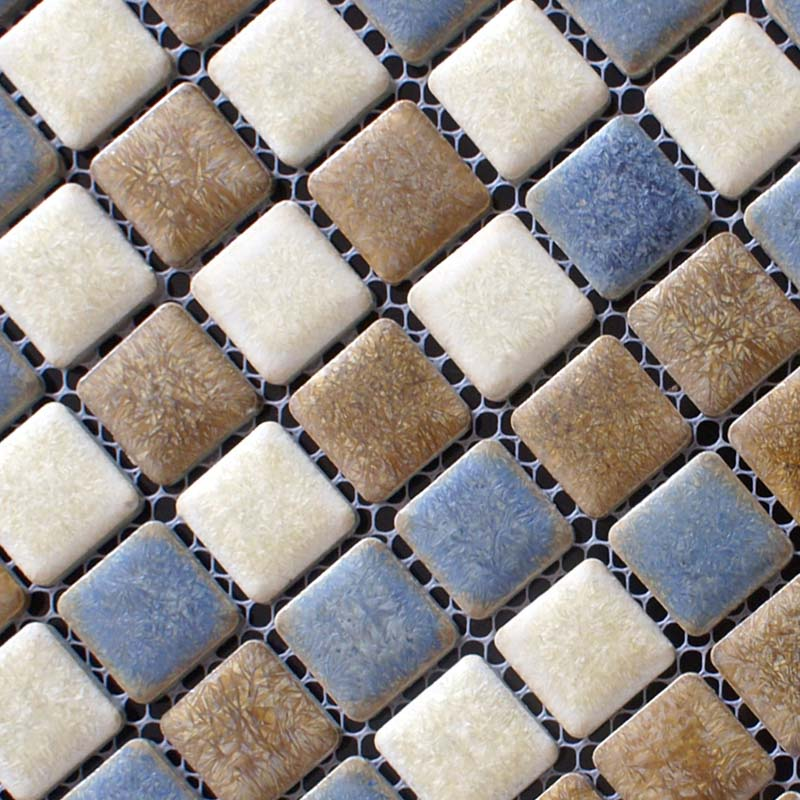 Porcelain Mosaic Floor Tiles Pattern
