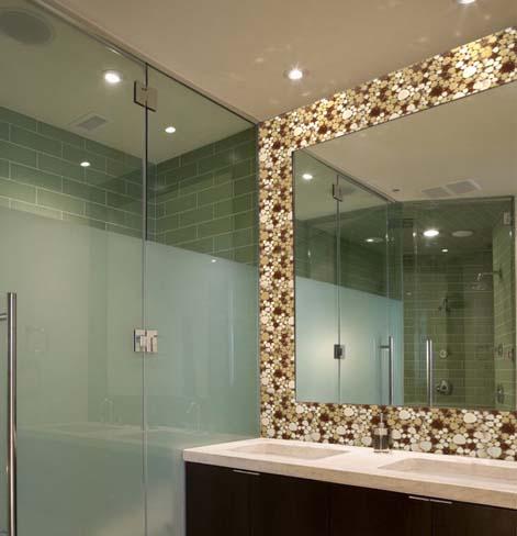 wholesale porcelain pebble tile for fireplace border tiles