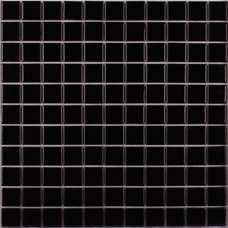Wholesale Porcelain Tile Mosaic Black Square Surface Art