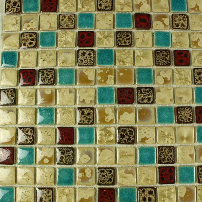 Porcelain Square Mosaic Tiles Design Ceramic Floor Tile
