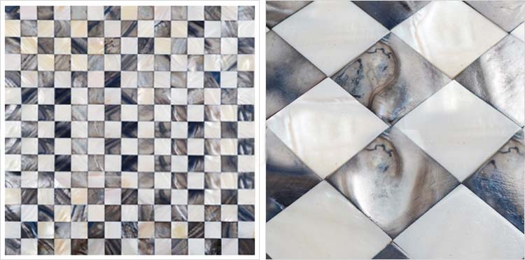 shell mosaic tile size 300x300mm - ranbei20