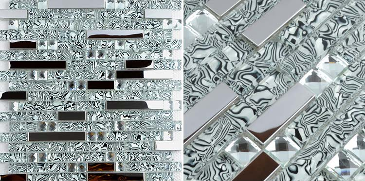 Wholesale 304 stainless steel sheet metal and crystal for Glass cut work designs