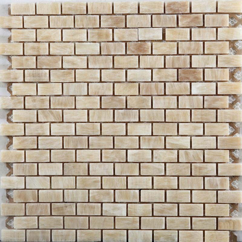 Subway Tiles Natural Stone Mosaic Kitchen Wall Tile Hand Painted
