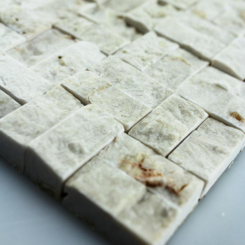 Stone Glass Mosaic Tile Seamless Patterns Washroom Wall